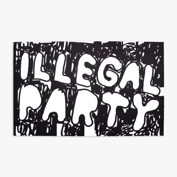 illegal-party-black-stefan-marx-lithograph