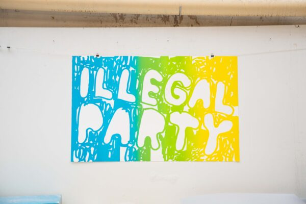 illegal-party-light-blue-green-yellow-stefan-marx-lithograph-printing-house-paris