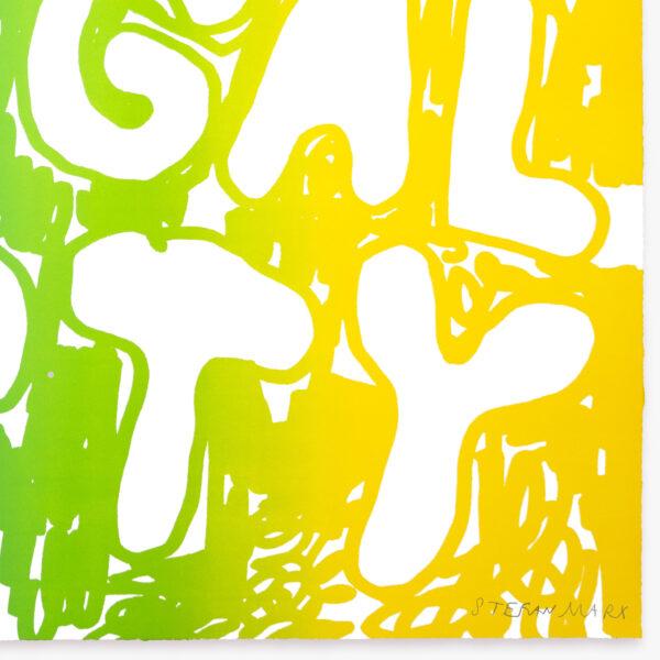 illegal-party-light-blue-green-yellow-stefan-marx-lithograph-signature-artist