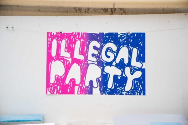 illegal-party-pink-blue-stefan-marx-lithograph-printing-house-paris
