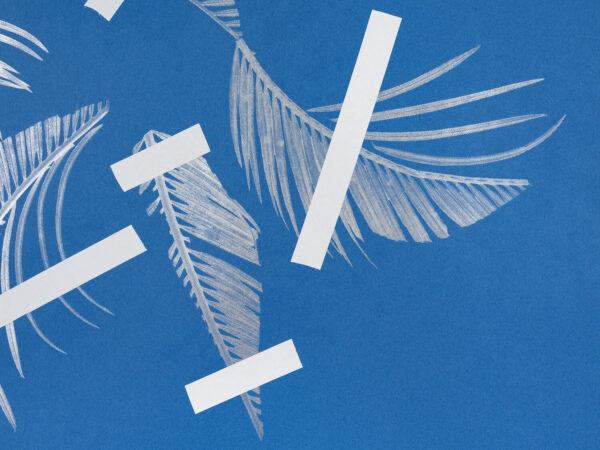 tamanoir-denis-savary-silkscreen-leaf-detail-contemporary-print