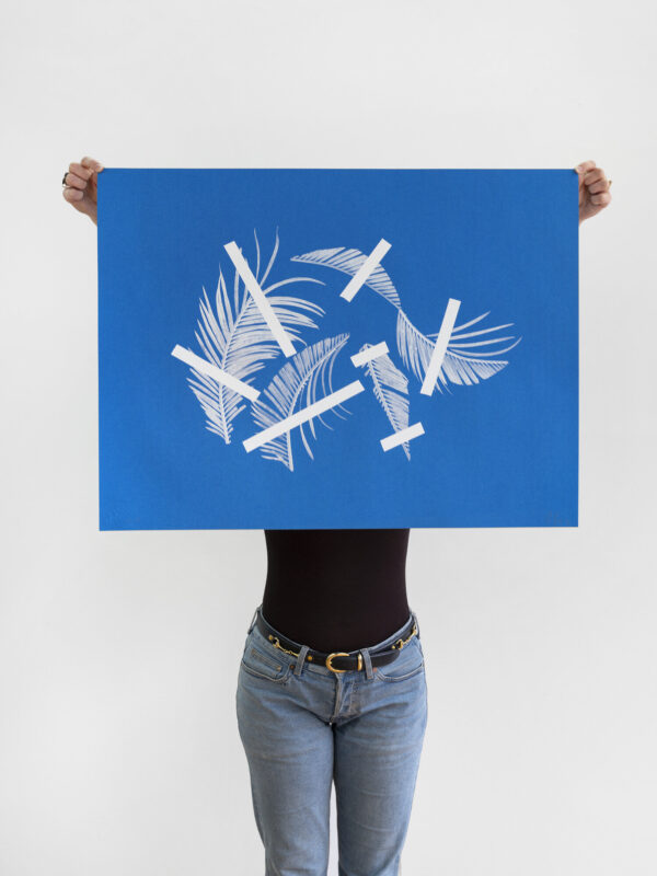 tamanoir-denis-savary-silkscreen-presentation
